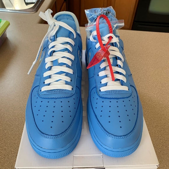 Off White Shoes Off White Mca Air Force 1 Poshmark